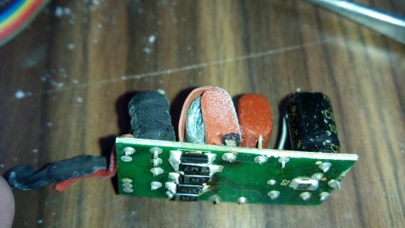 Светодиодная лампа разрыв кондея