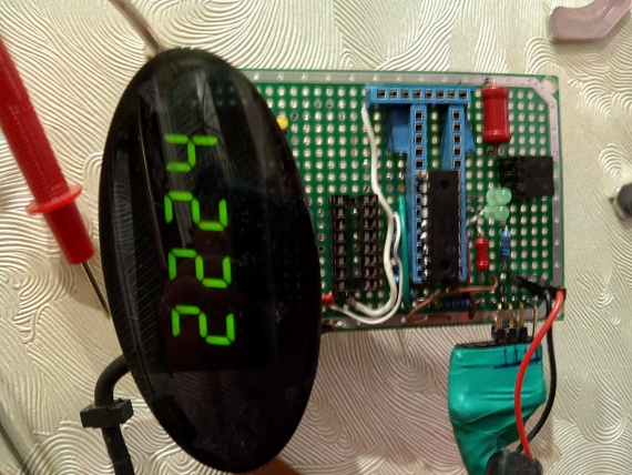 PIC16f часы