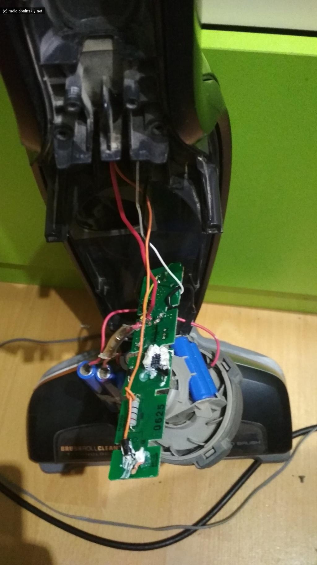 ELECTROLUX пылесос несосёт аккумулятор сел