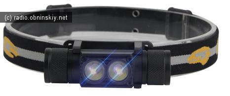 бюджетный светодиодный налобный и ручной фонарь с али