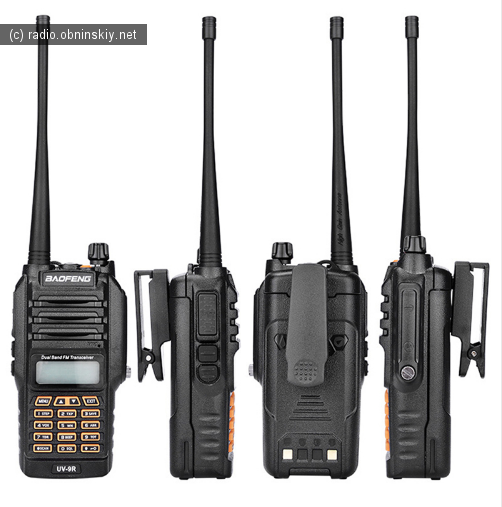 Мощная рация baofeng Оригинал Baofeng UV-9R IP67 8 Вт Long Range Walkie Talkie 10 км
