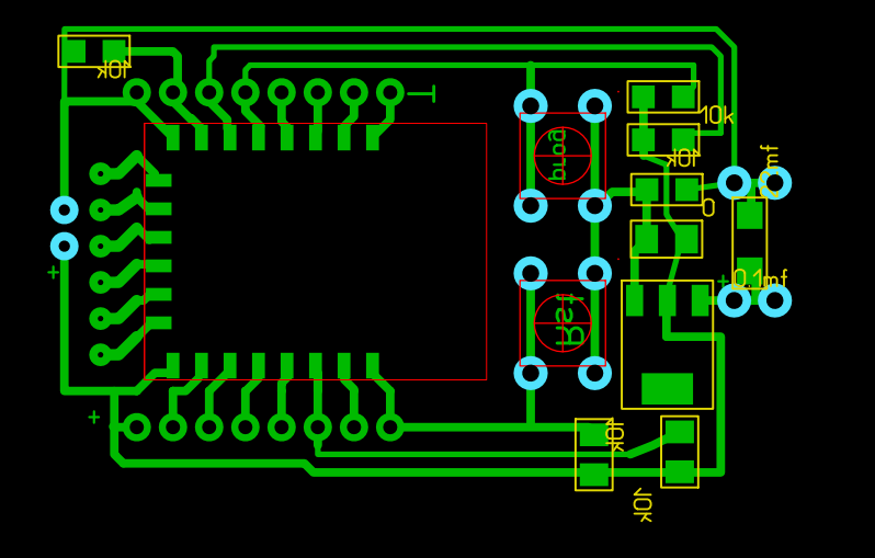 ESP-8266 esp-07-12 adapter lay
