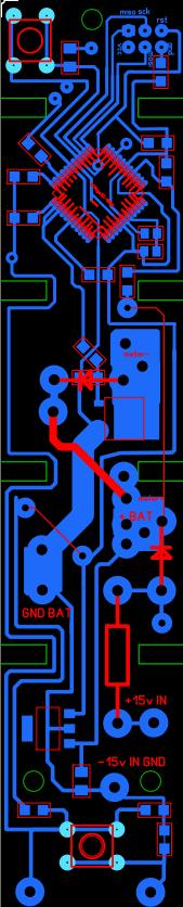 своя схема управления пылесосом щёткой электролюкс
