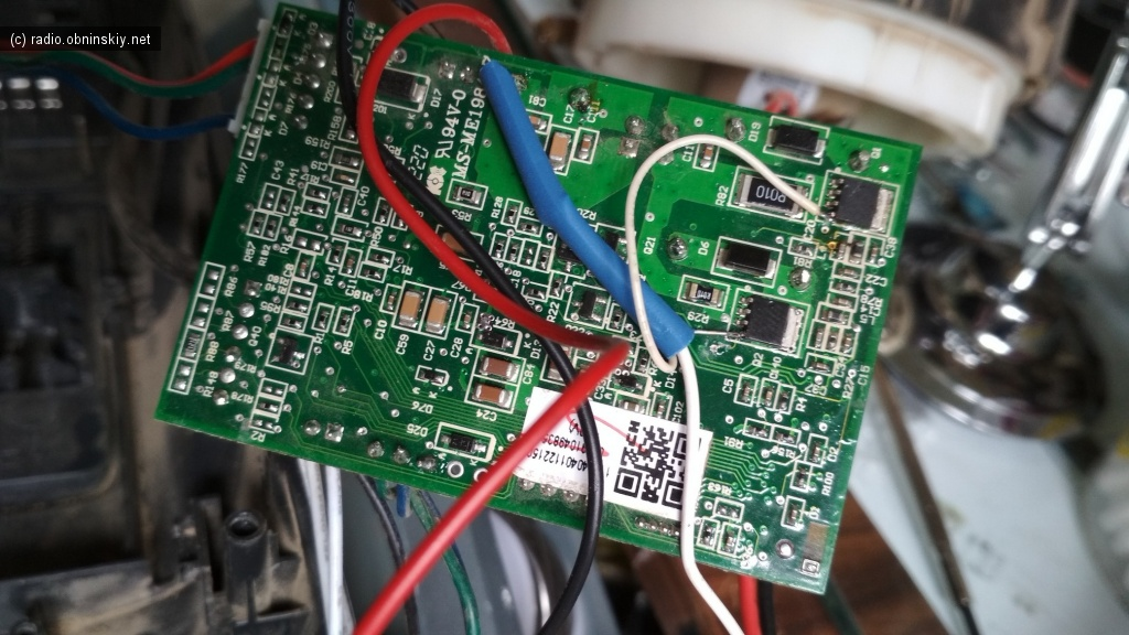 изменение схемы пылесоса щётки электролюкс
