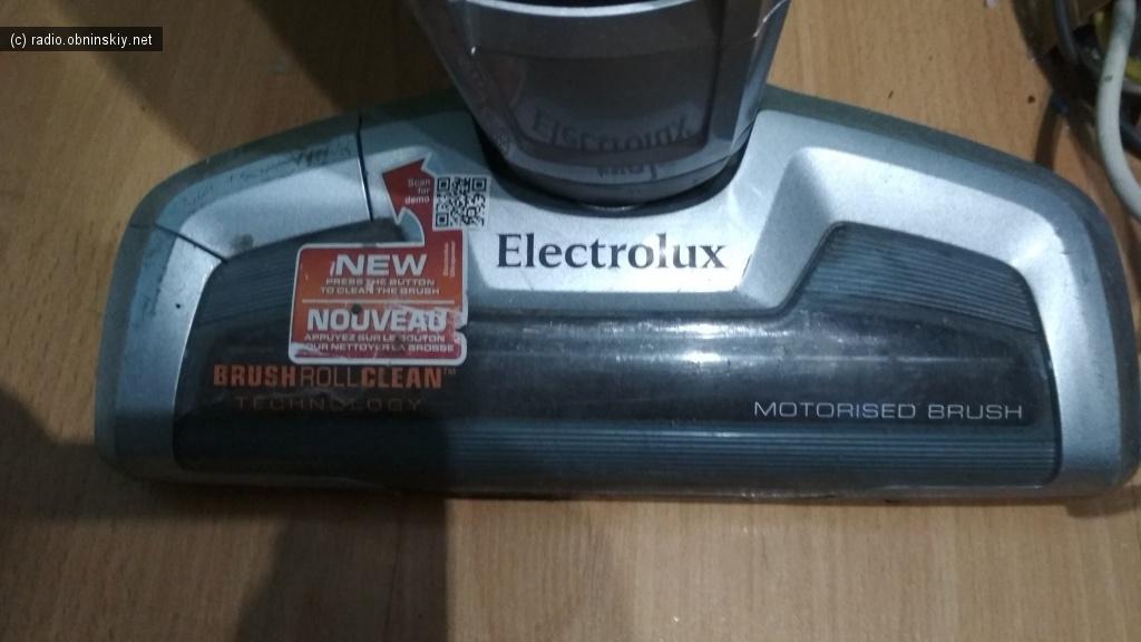 electrolux 18V пылесос щётка ремонт