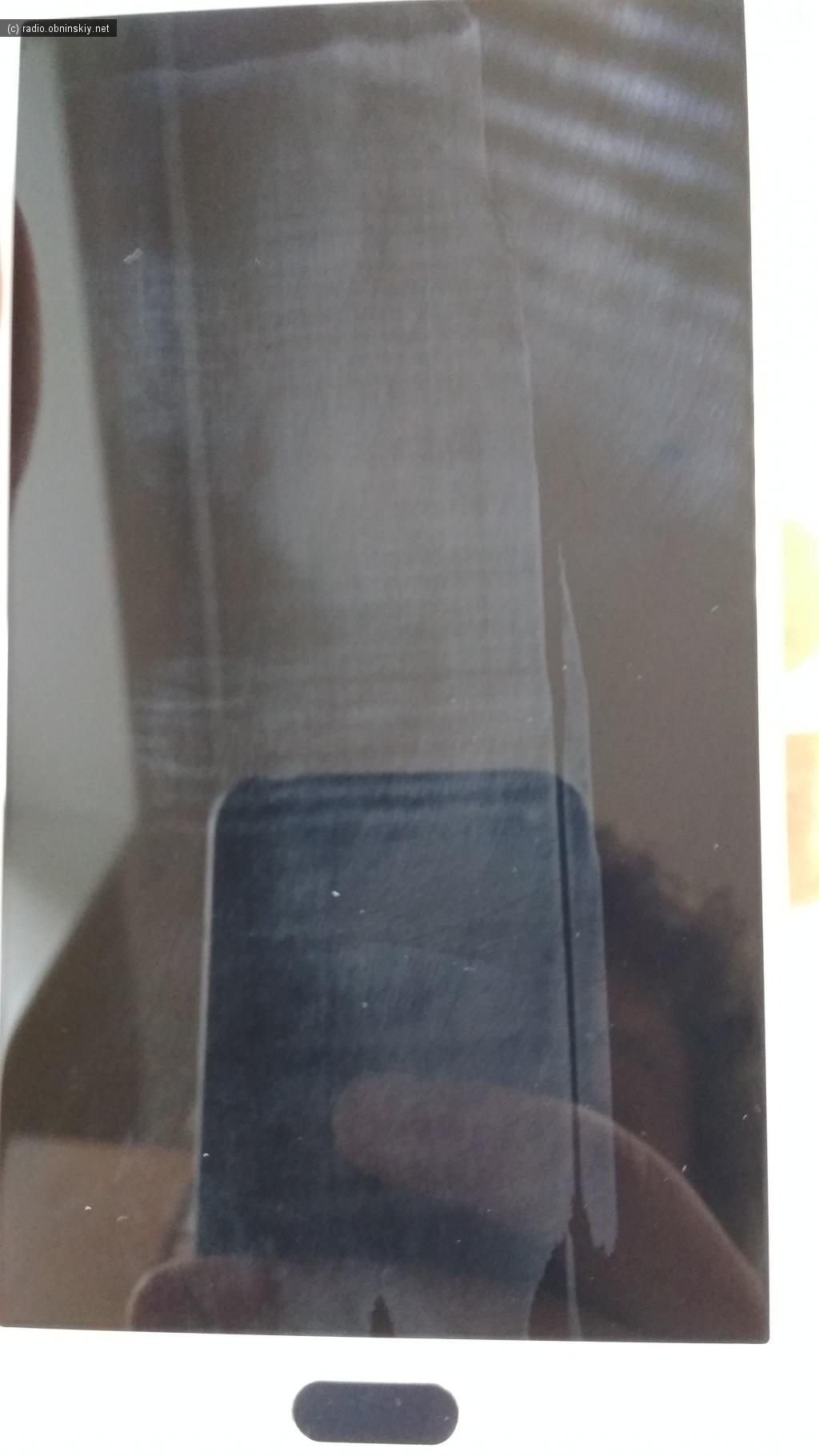 фото брака  Galaxy A7 экрана тачскрин с алиэкспресс спор провален