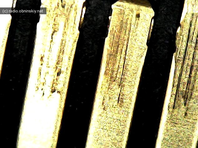 Царапины на контактах старый бу диск с али TOSHIBA ОТЗЫВ MG04ACA200N