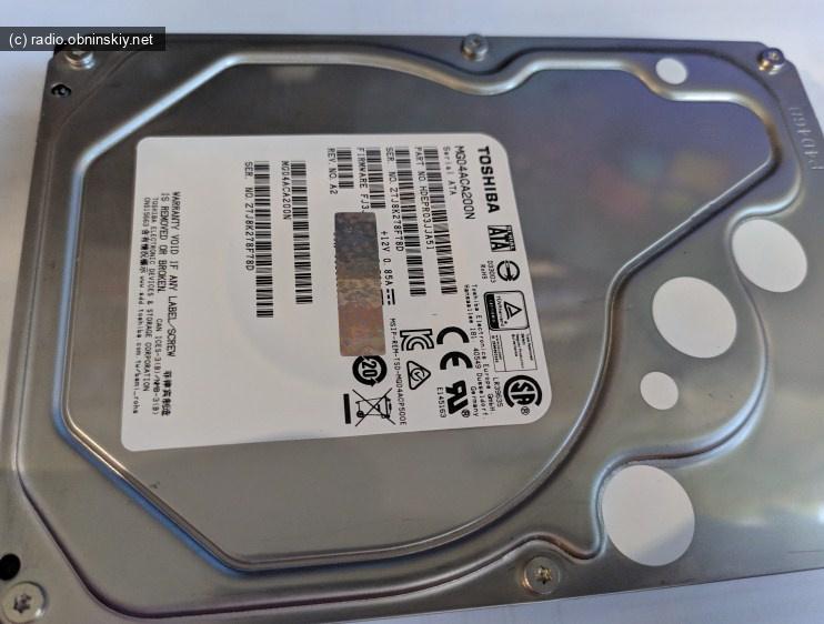 MG04ACA200N Новые жесткие диски с алиэкспрес, не новые БУ TOSHIBA ОТЗЫВ
