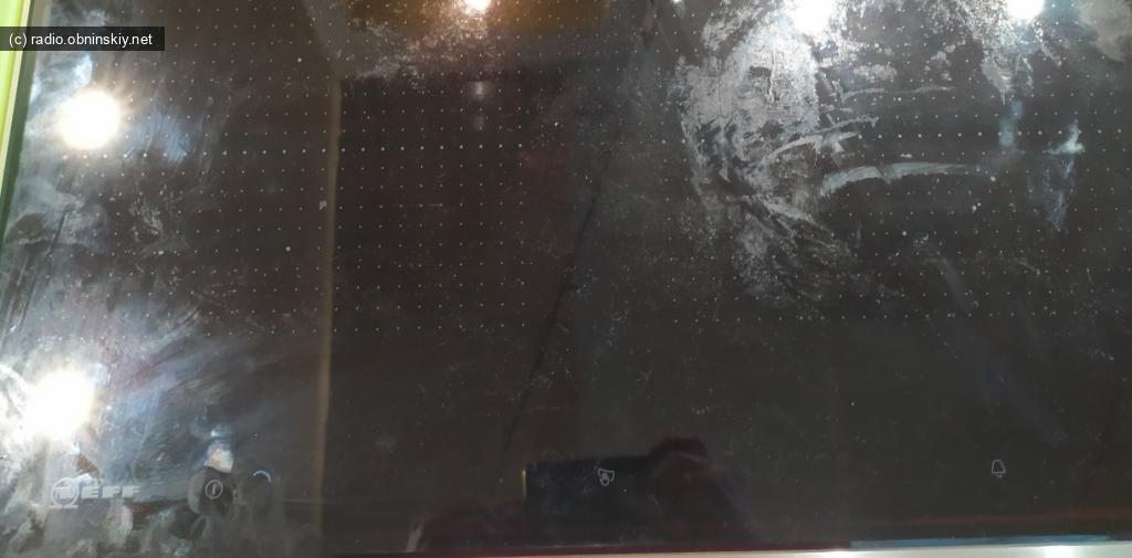 Neff варочная вид сверху грязное стекло